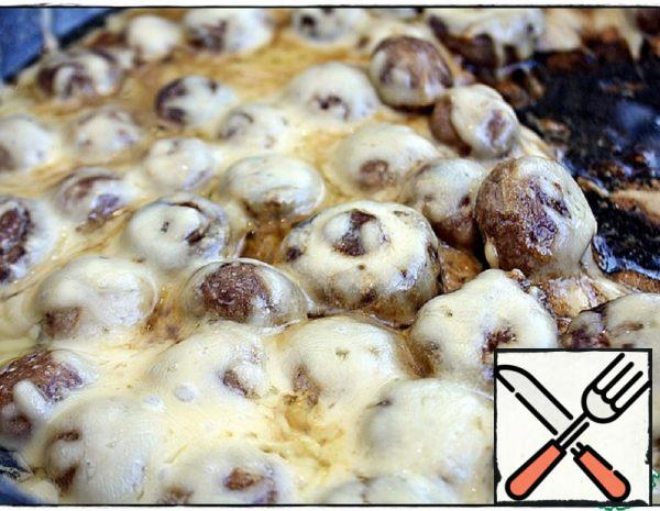 Mushrooms with Cheese Recipe