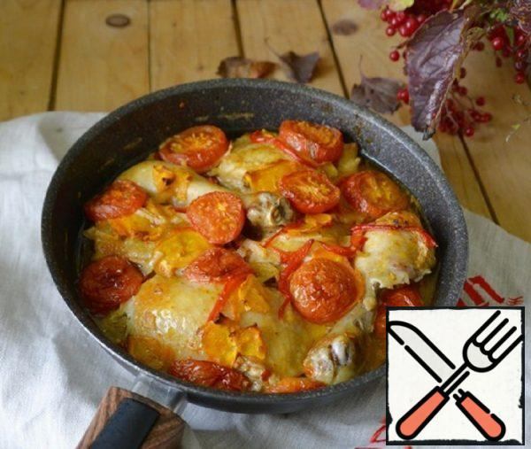 Chicken with Vegetables in a Fragrant Sauce Recipe