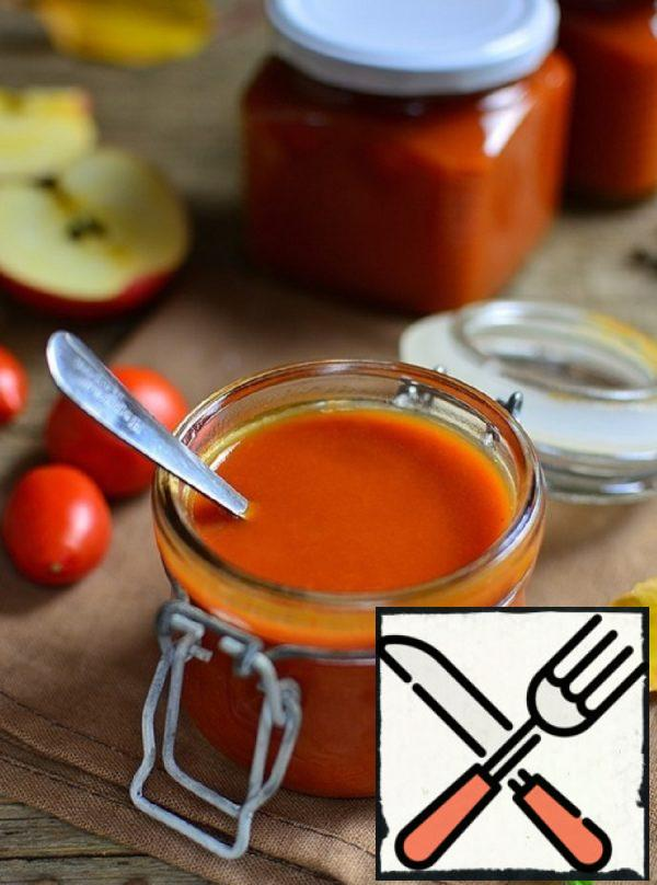 Tender Ketchup with Apples Recipe