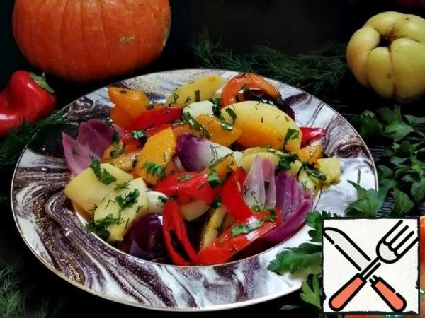 Quince with Pumpkin in Marinade Recipe