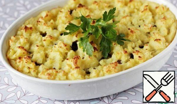 Potato Casserole with Eggplant Recipe