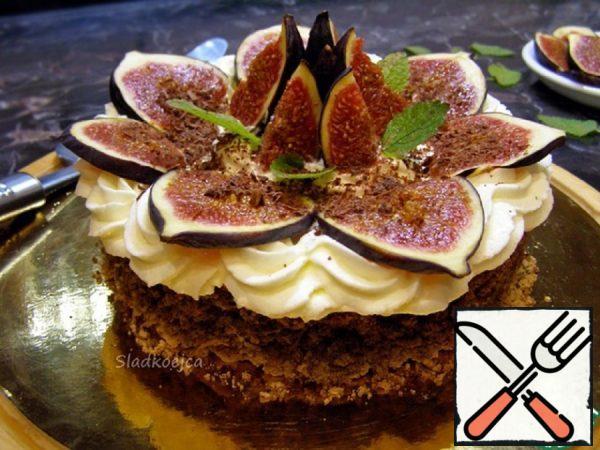Nutty Dessert with Figs Recipe