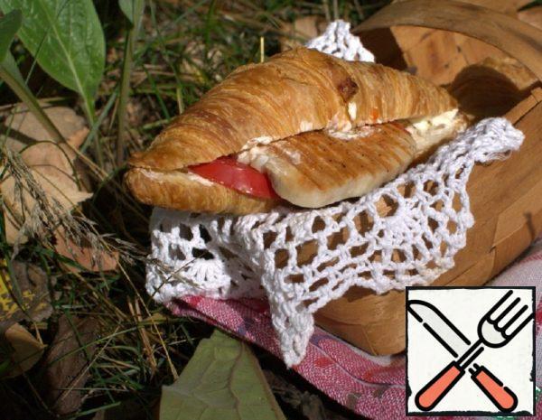 Croissant with Turkey Recipe