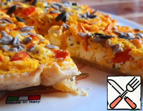 Quiche with Pumpkin and Cheese Recipe