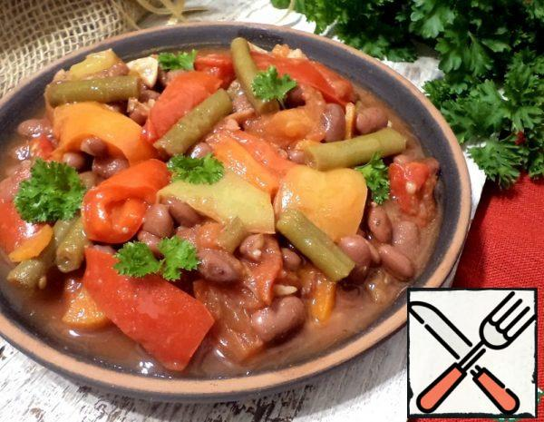 Beans with Vegetables Recipe