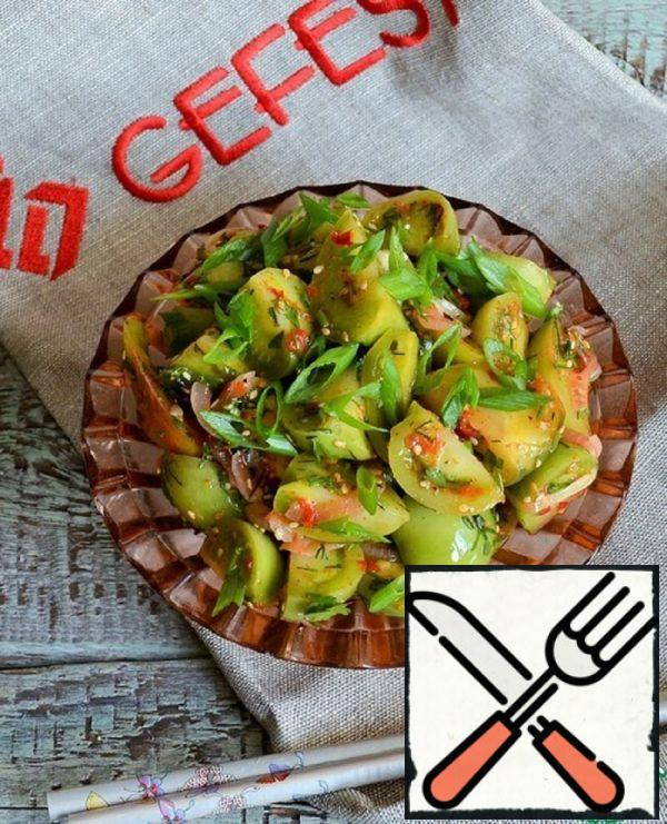 Spicy Green Tomatoes Recipe