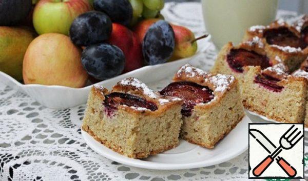 Fragrant Plum Cake Recipe