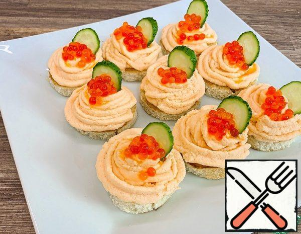 Appetizer with Prawns Recipe