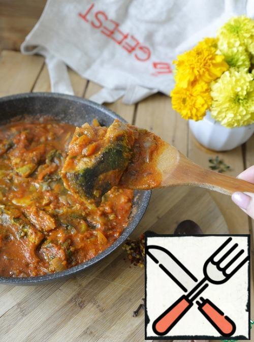 Serve the fish hot or cold. Bon Appetit!!!