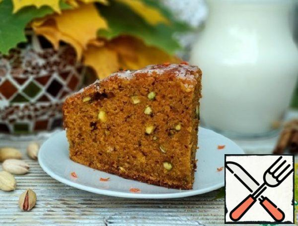 Carrot Cake with Pistachios Recipe