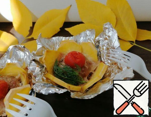 Potato Baskets with Turkey Recipe