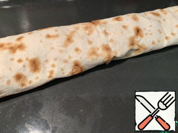 Roll it up.