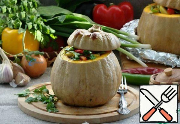 Chanakhi in a Pumpkin Recipe