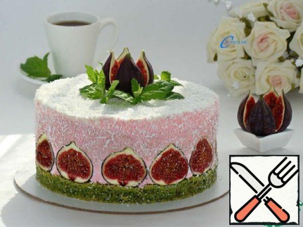 "Cake ""Spinach-Raspberry-Fig"" Recipe"