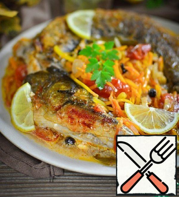 Pike with Spicy Marinade Recipe