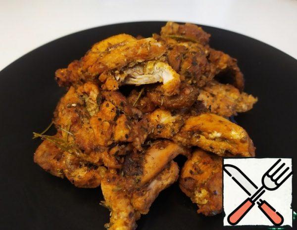 Chicken in a Spicy Marinade Recipe