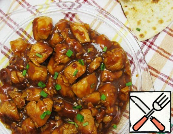 Chicken in Hot and Sweet Sauce Recipe
