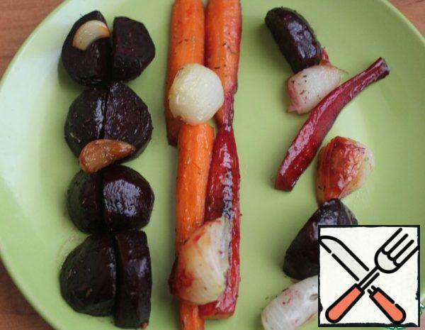 Vegetables in Honey Sauce Recipe