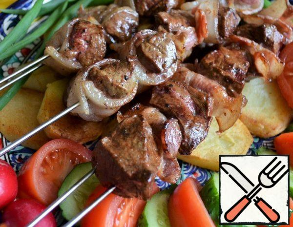 Skewers of Liver Recipe