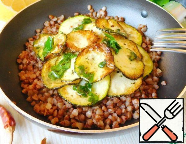 Buckwheat with Aromatic Dressing Recipe