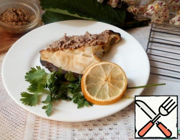Fish with Nuts and Prunes Recipe