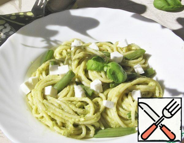 Spaghetti with Walnut Pesto Recipe