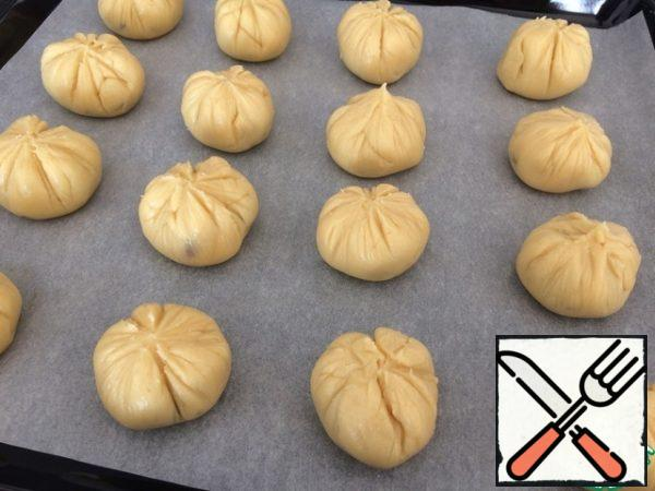Bake for 25 minutes at 180 degrees.