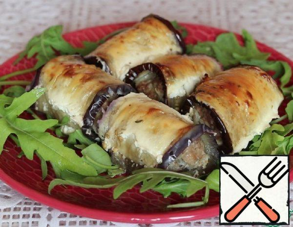 Eggplant Rolls with Minced Meat Recipe