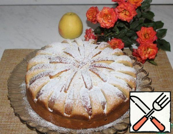 Cottage Cheese Charlotte with Apples Recipe