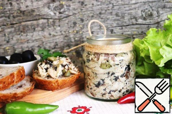 Riyet from Baked Mackerel with Capers Recipe