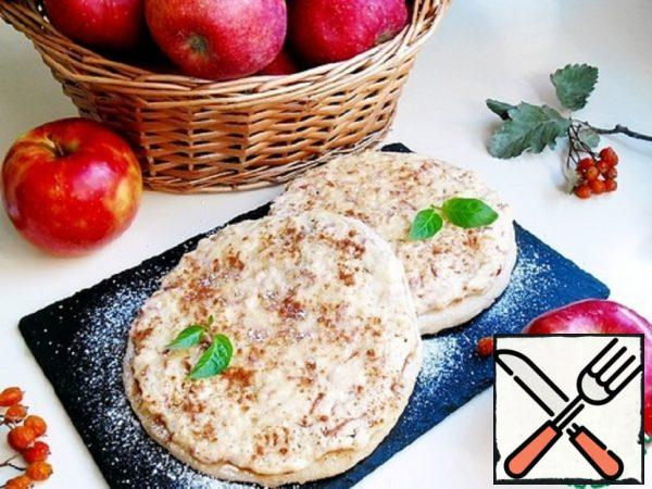 Tortilla with Apples in a Pan Recipe