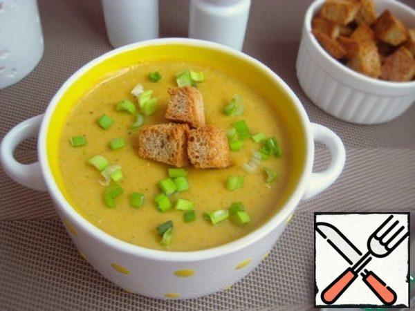 "Soup-Puree ""Autumn"" Recipe"