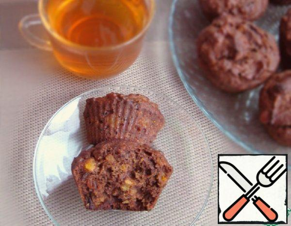 Muffins with Pumpkin and Dried Fruit Recipe