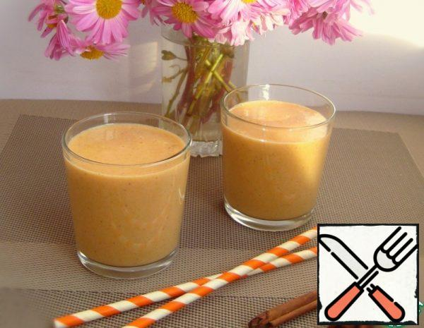 Spicy Pumpkin Smoothie with Banana Recipe