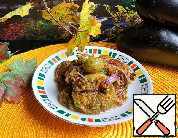 Spiced Eggplant Salad Recipe