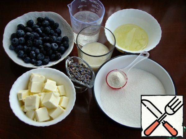Prepare all the necessary ingredients.
