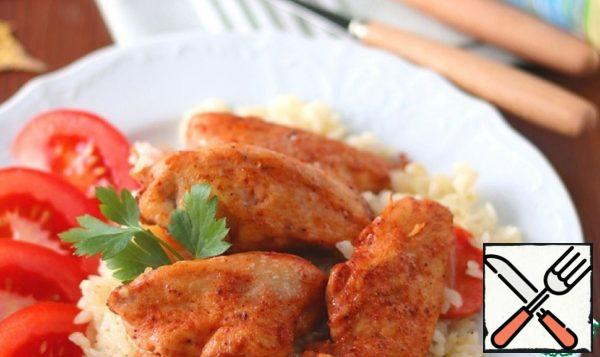 Chicken with Rice at Home Recipe