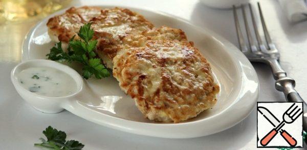 Chicken Pancakes with Zucchini Recipe