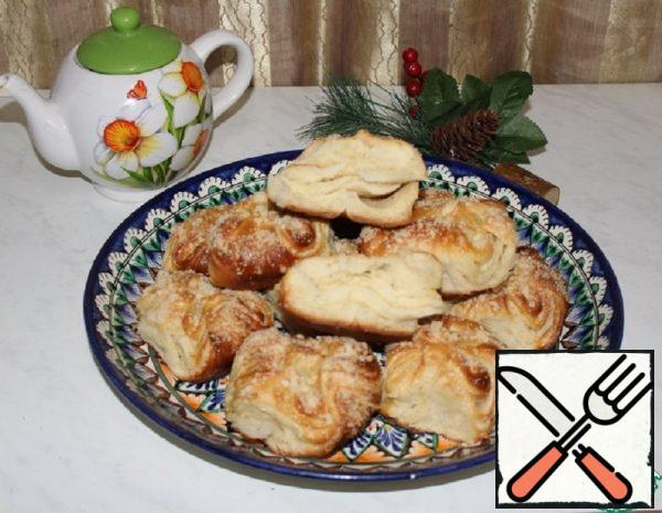 Puff Pastry with Streusel Recipe