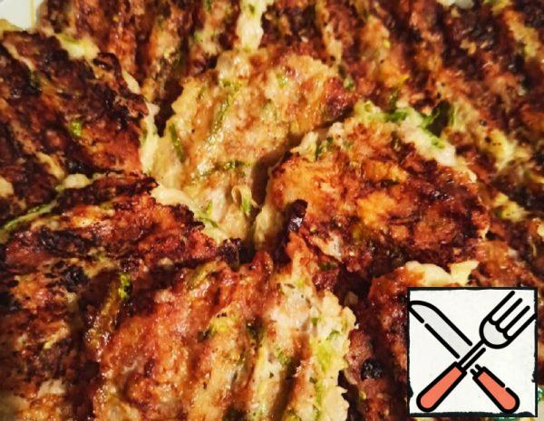 Zucchini with Minced Meat and Cheese Recipe