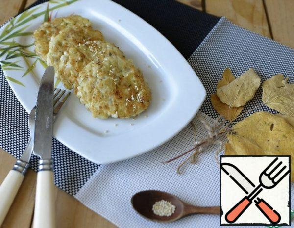 Chopped Cutlets of Squid and Potatoes Recipe