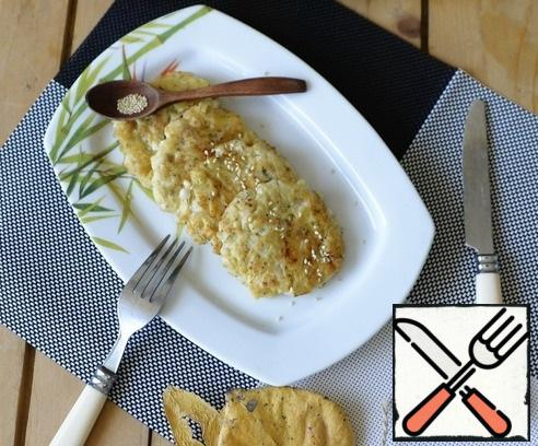 Cutlets can be eaten both hot and cold.