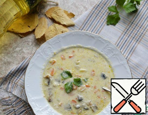 Scottish Soup with Smoked Fish Recipe