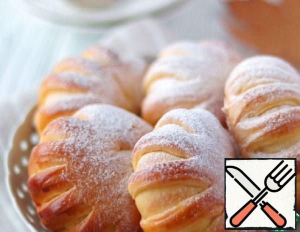 Vanilla Buns with Cottage Cheese Recipe