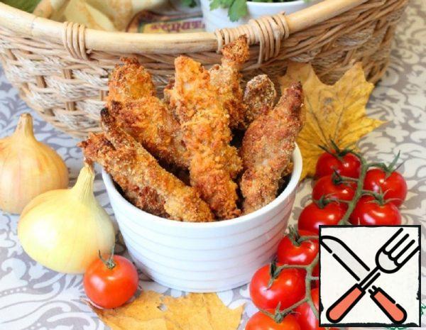Chicken Fillet Strips Recipe