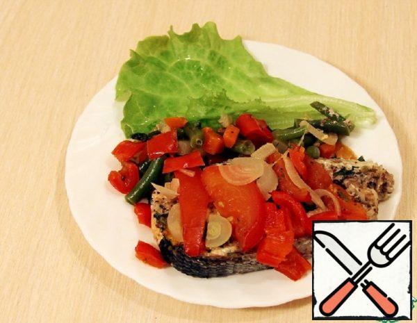 Chum Salmon in Vegetable Sheepskin Coat Recipe
