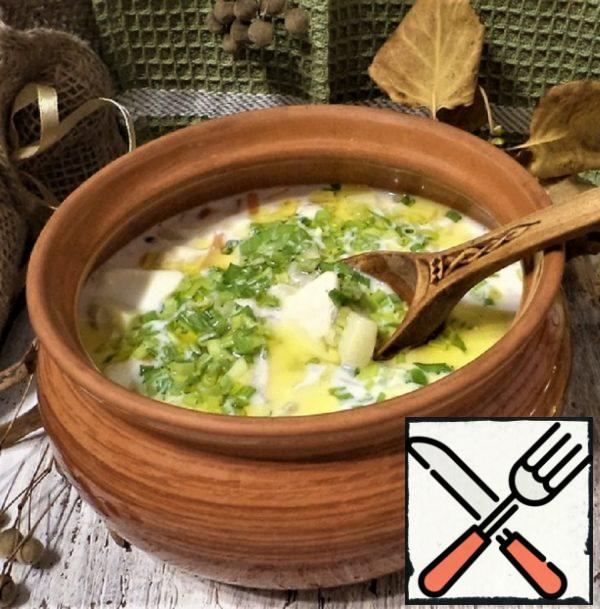Fish Soup with Haddock and Cream Recipe