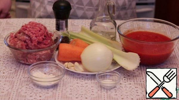 Prepare all the ingredients.