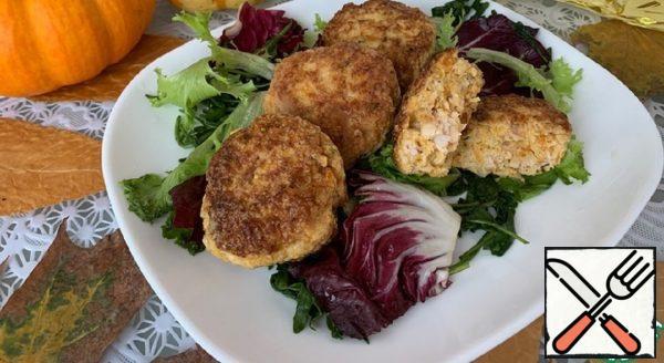 Chicken Cutlets with Pumpkin Recipe