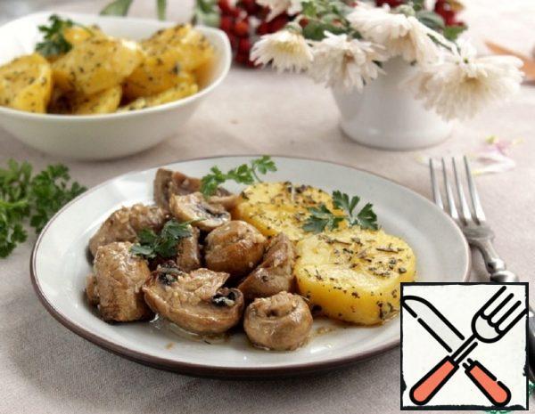 Mushrooms in Glazes Recipe